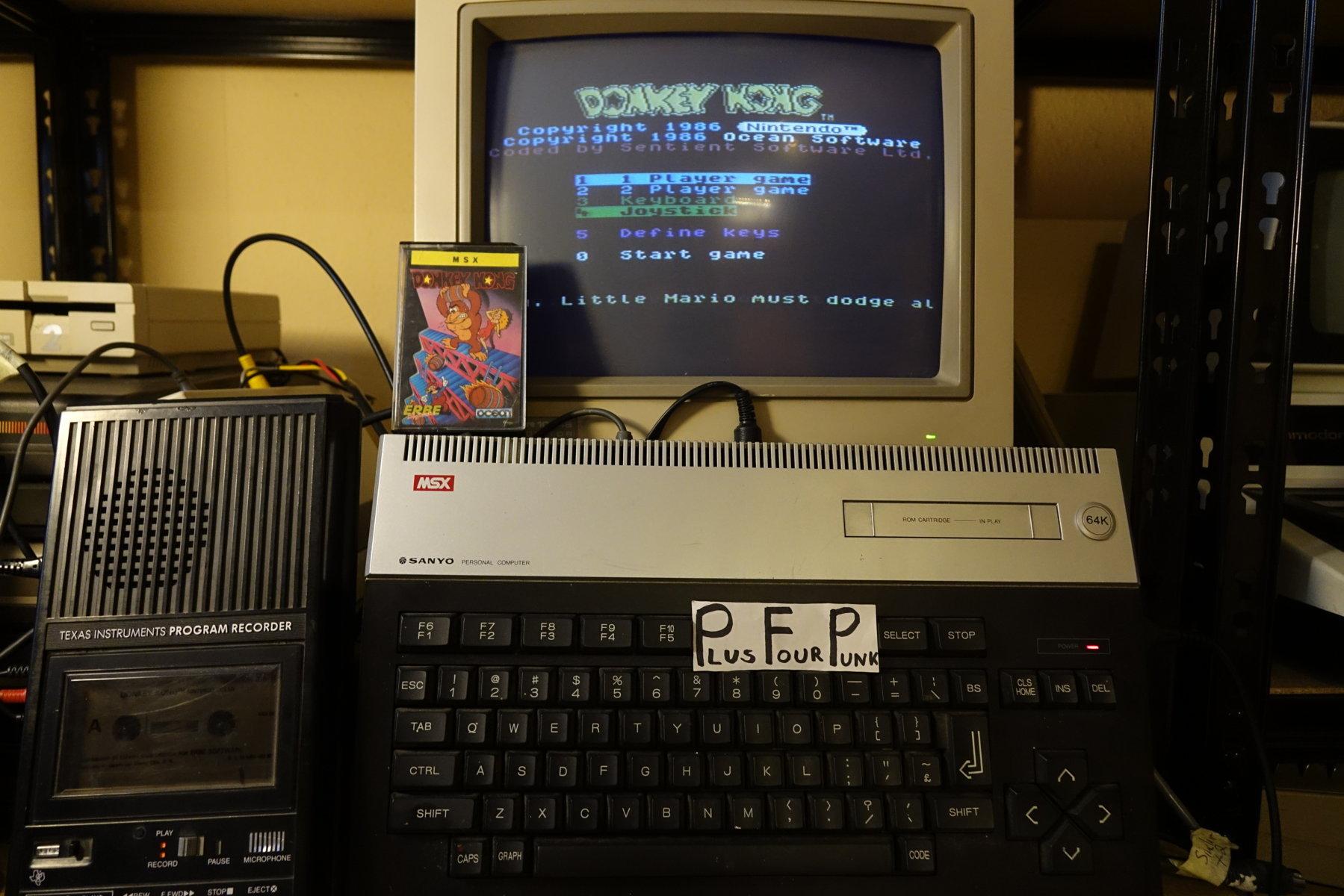 Donkey Kong 9,500 points