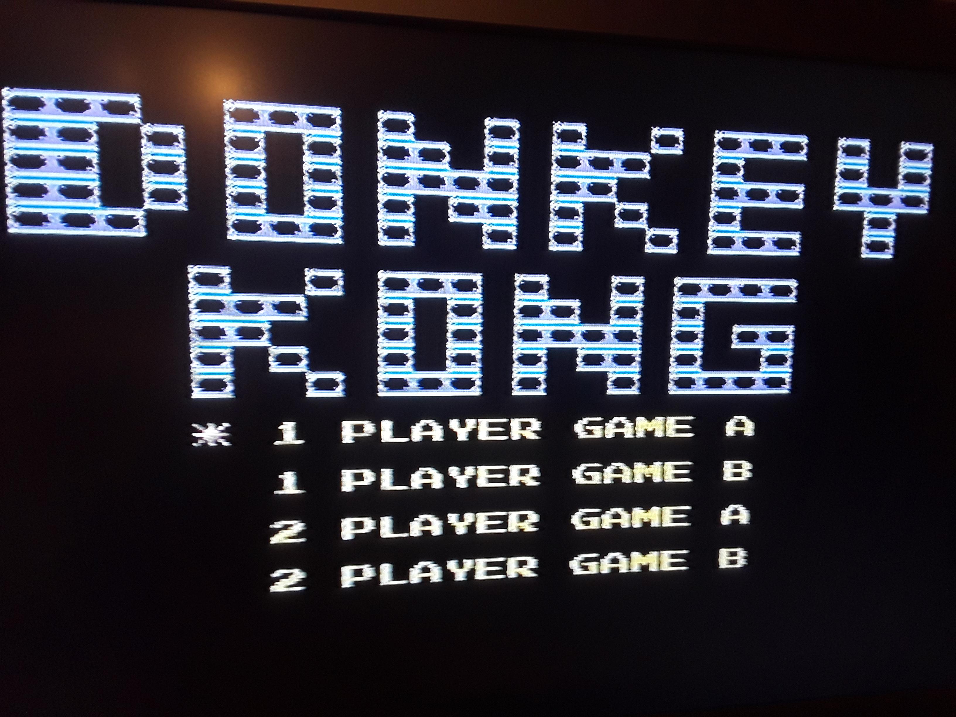 Donkey Kong 2,700 points