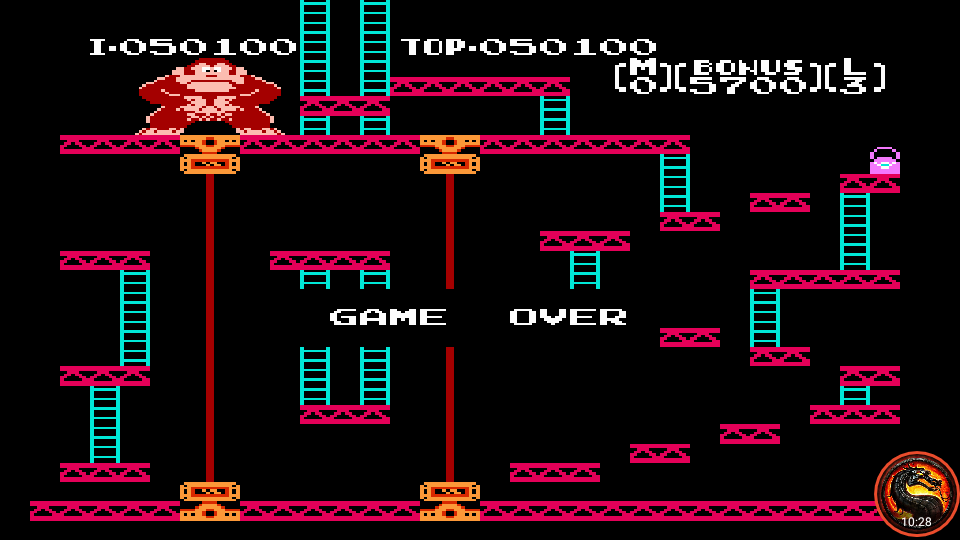 omargeddon: Donkey Kong (NES/Famicom Emulated) 50,100 points on 2020-07-02 20:43:10
