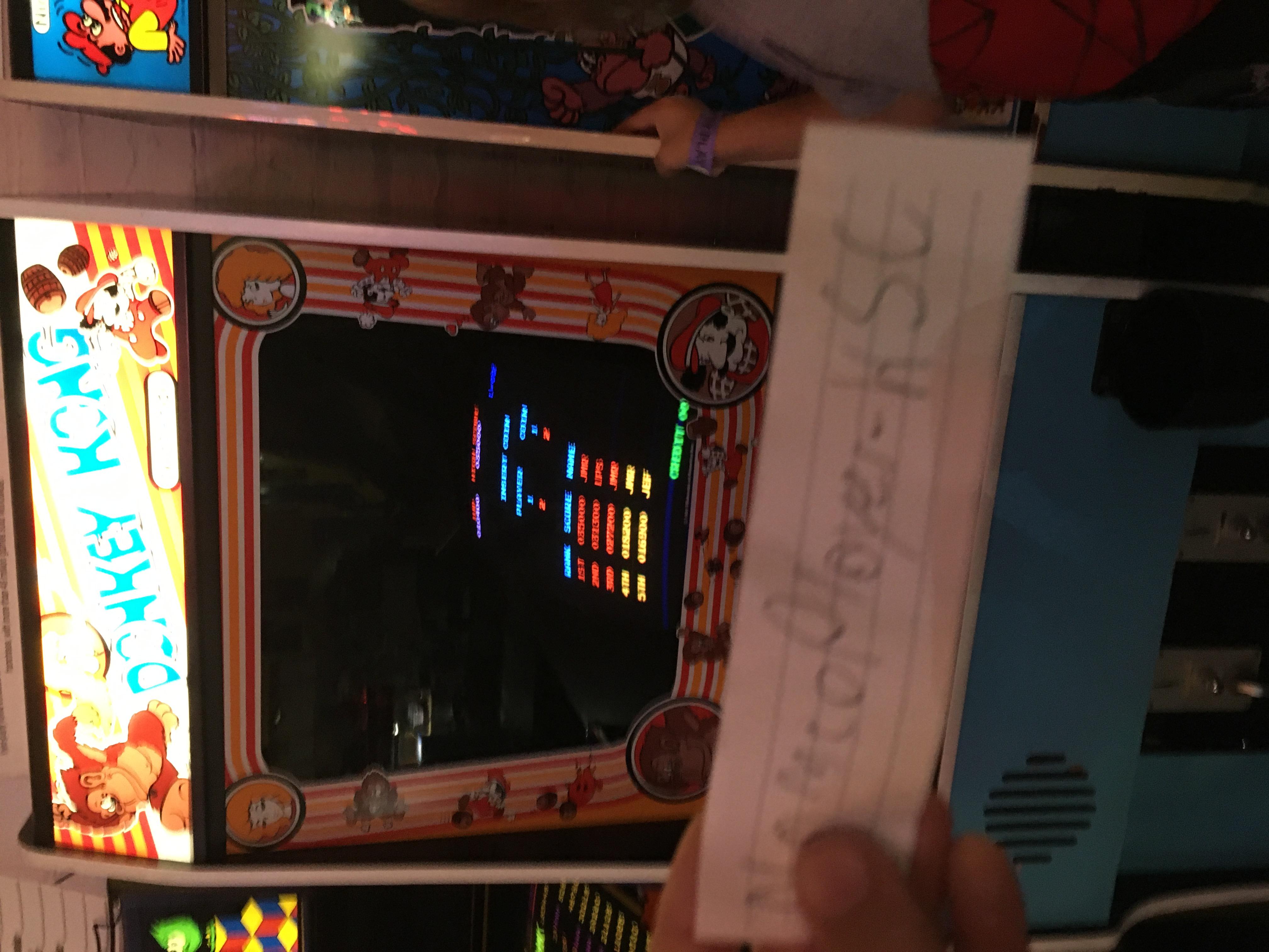 NamcoPlayer: Donkey Kong [No Hammer Challenge] (Arcade) 10,400 points on 2020-10-11 08:05:17