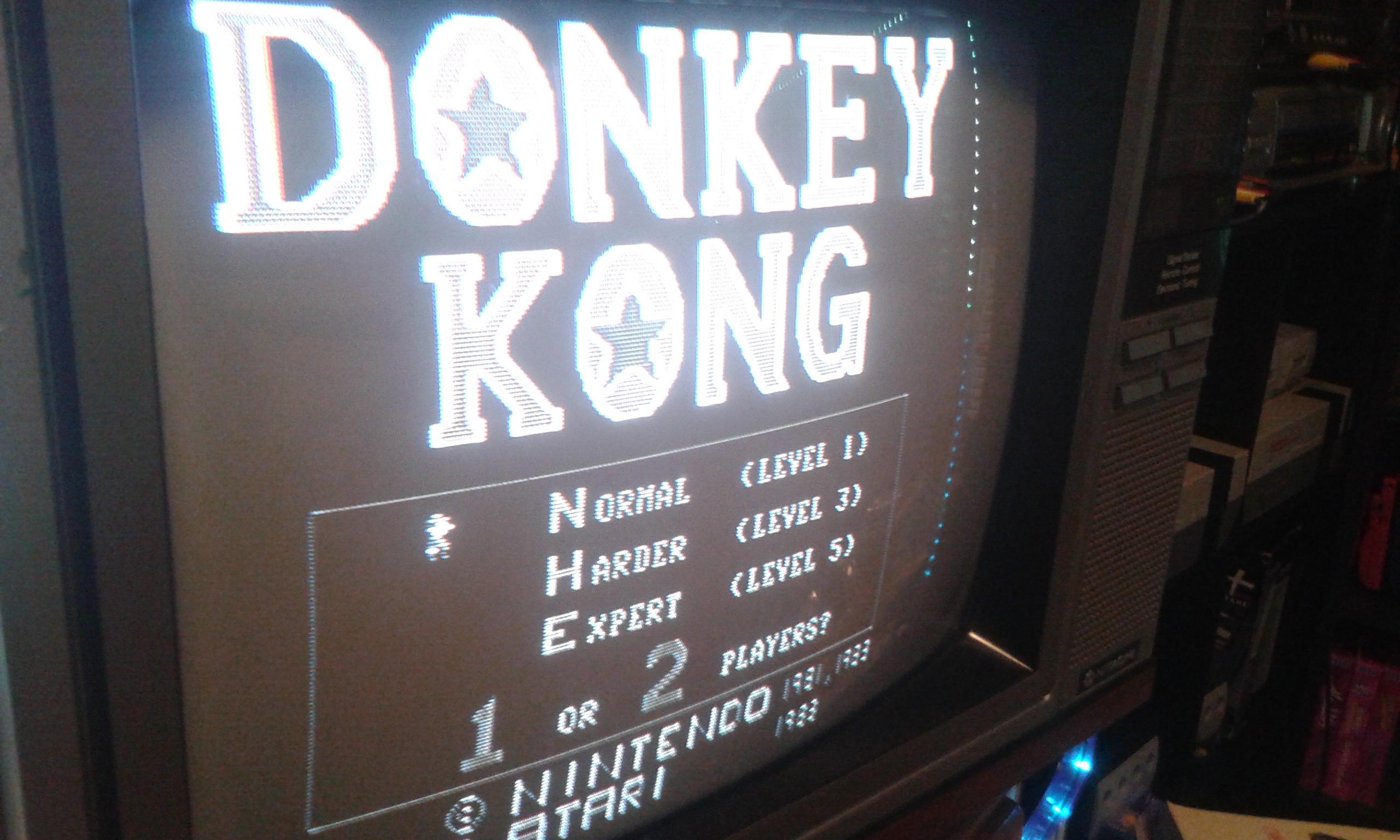 Donkey Kong 12,200 points