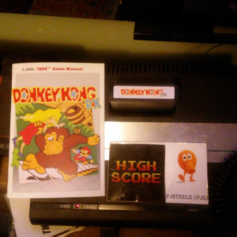 Donkey Kong PK [Arcade] [Japan Order] [Level 1 Start] 98,700 points