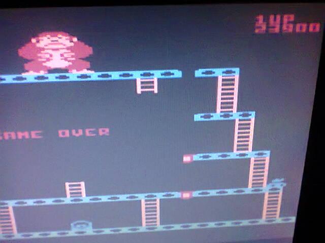 ecworiginal: Donkey Kong [Pie Start] (Atari 400/800/XL/XE Emulated) 23,900 points on 2016-05-09 13:09:48