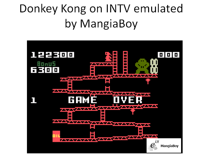 Donkey Kong: Skill 1 122,300 points