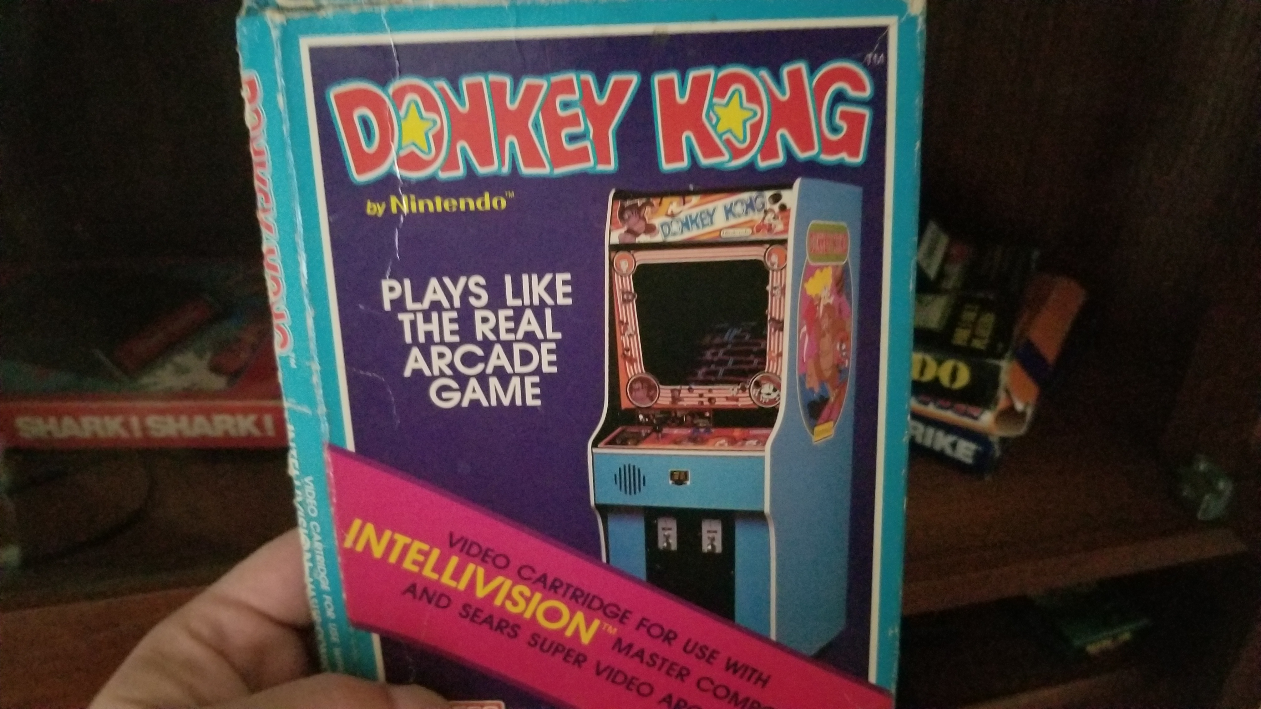 Donkey Kong: Skill 1 295,100 points