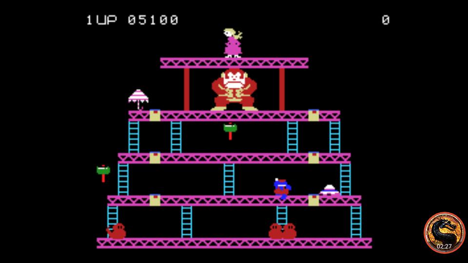 omargeddon: Donkey Kong: Skill 3 (Colecovision Emulated) 5,100 points on 2019-04-29 00:47:48