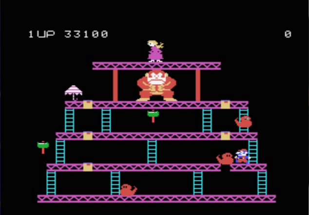 S.BAZ: Donkey Kong: Skill 4 (Colecovision Emulated) 33,200 points on 2018-09-25 18:53:05