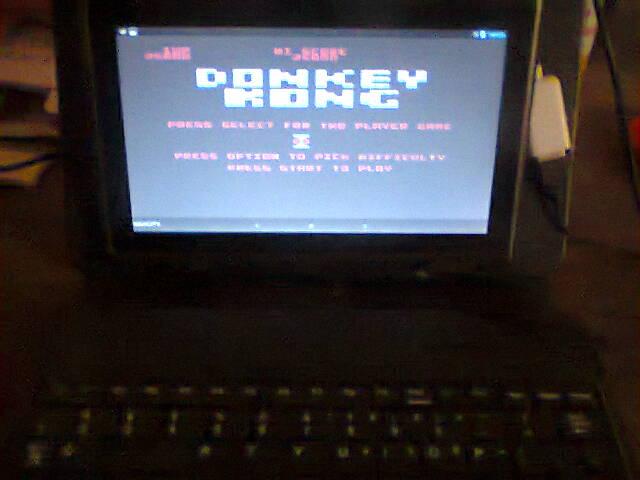 ecworiginal: Donkey Kong [Spring Start] (Atari 400/800/XL/XE Emulated) 25,800 points on 2016-05-09 13:06:41