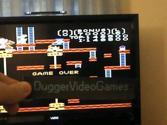 DuggerVideoGames: Donkey Kong: Standard (Atari 7800 Emulated) 148,500 points on 2017-05-25 18:54:33
