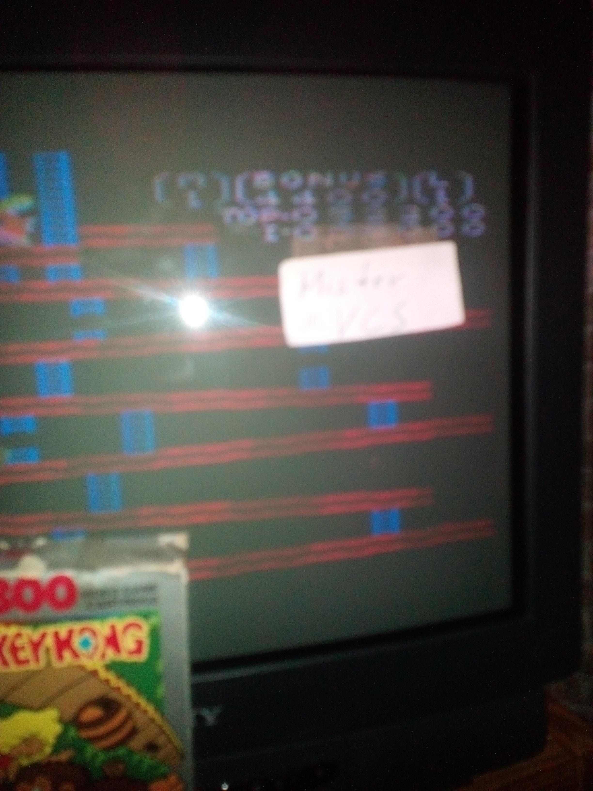 Donkey Kong: Standard 52,200 points