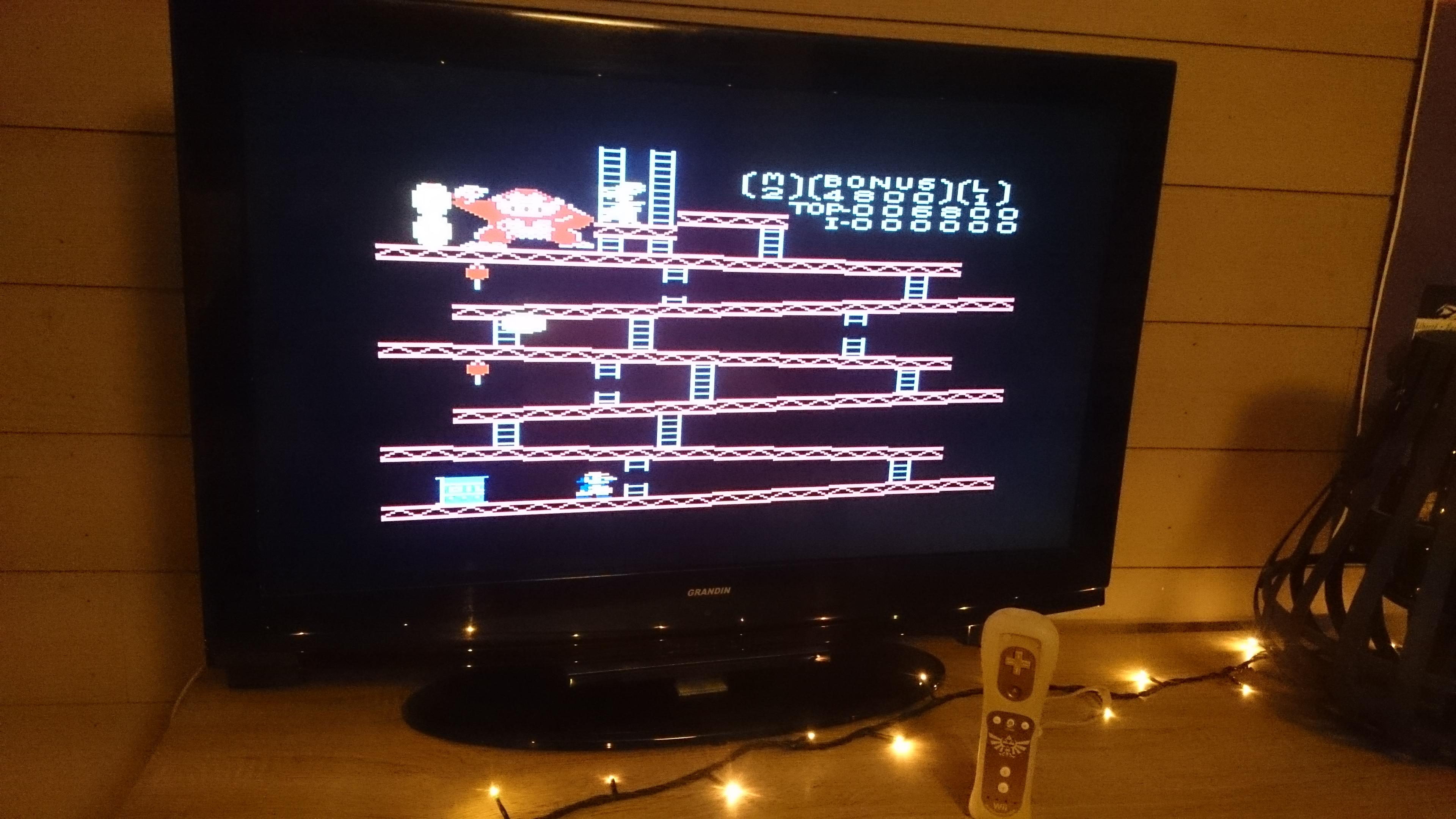 EddieNiceguy: Donkey Kong: Standard (Atari 7800 Emulated) 6,800 points on 2017-12-06 11:06:22