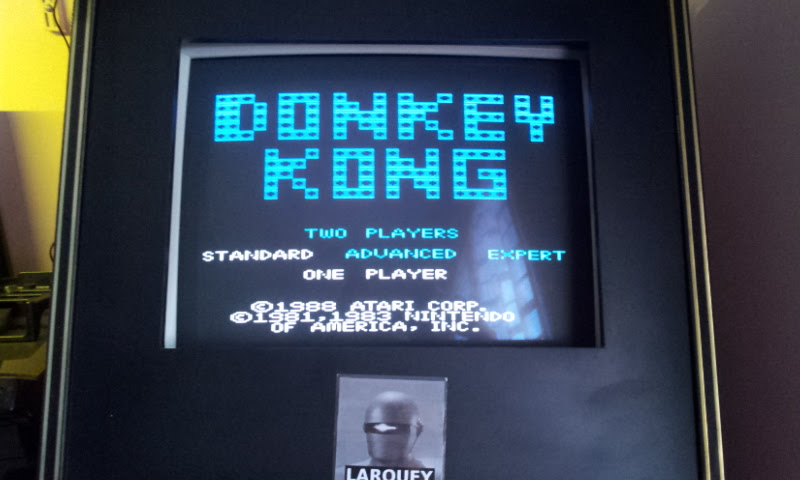 Larquey: Donkey Kong: Standard (Atari 7800 Emulated) 62,200 points on 2017-12-10 04:49:43