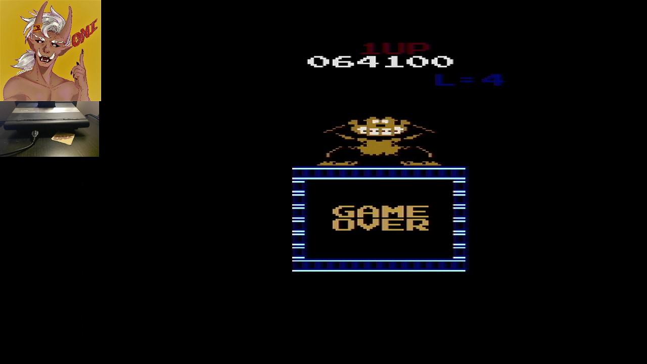 OniDensetsu: Donkey Kong VCS (Atari 2600) 64,100 points on 2020-09-25 17:03:33