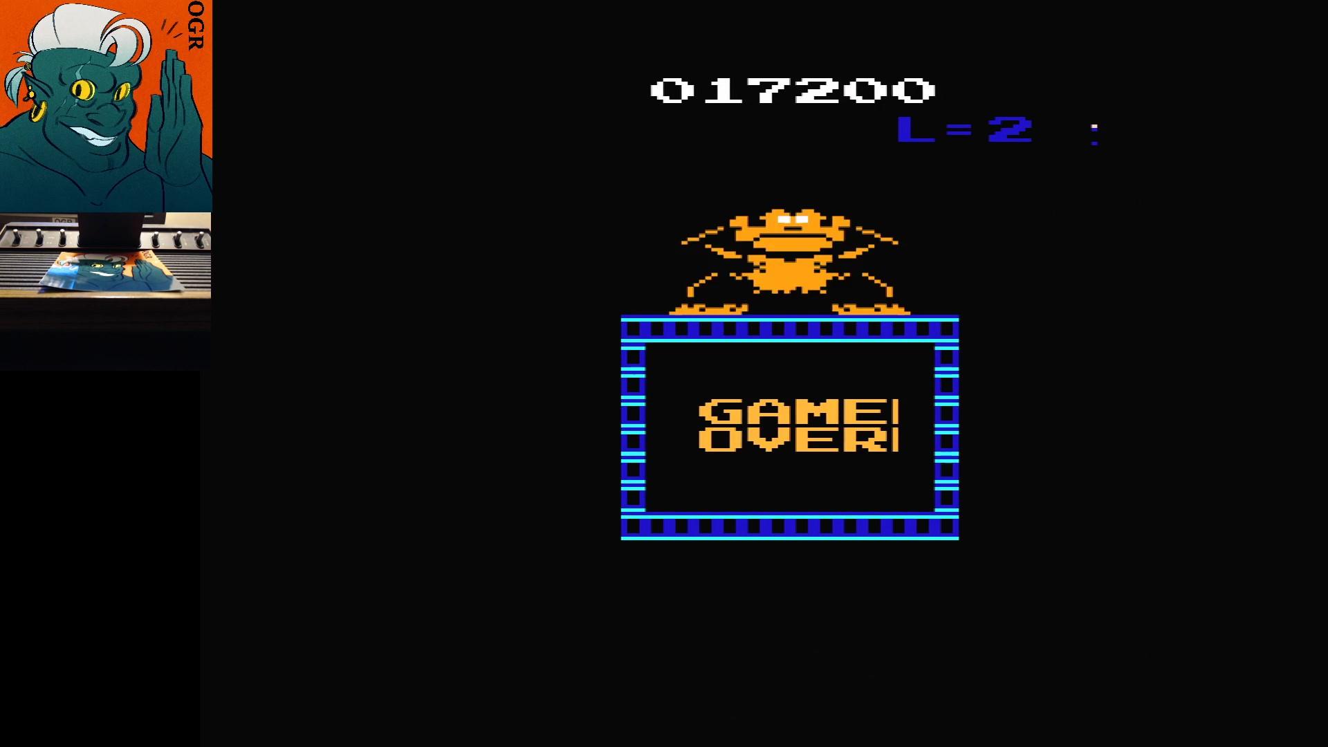 Donkey Kong VCS 17,200 points