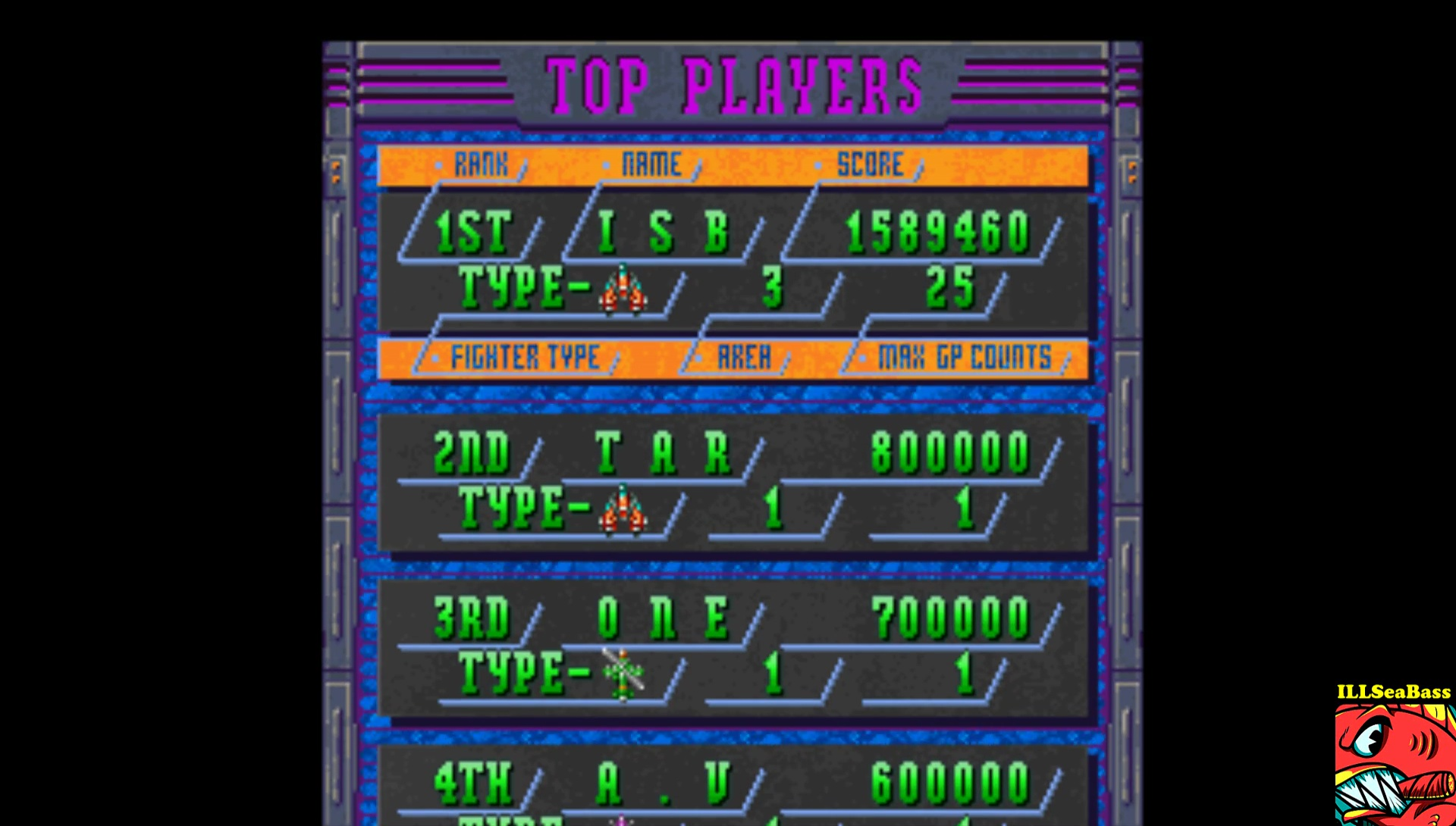 ILLSeaBass: Donpachi [Easy] (Playstation 1 Emulated) 1,589,460 points on 2017-02-15 22:32:41