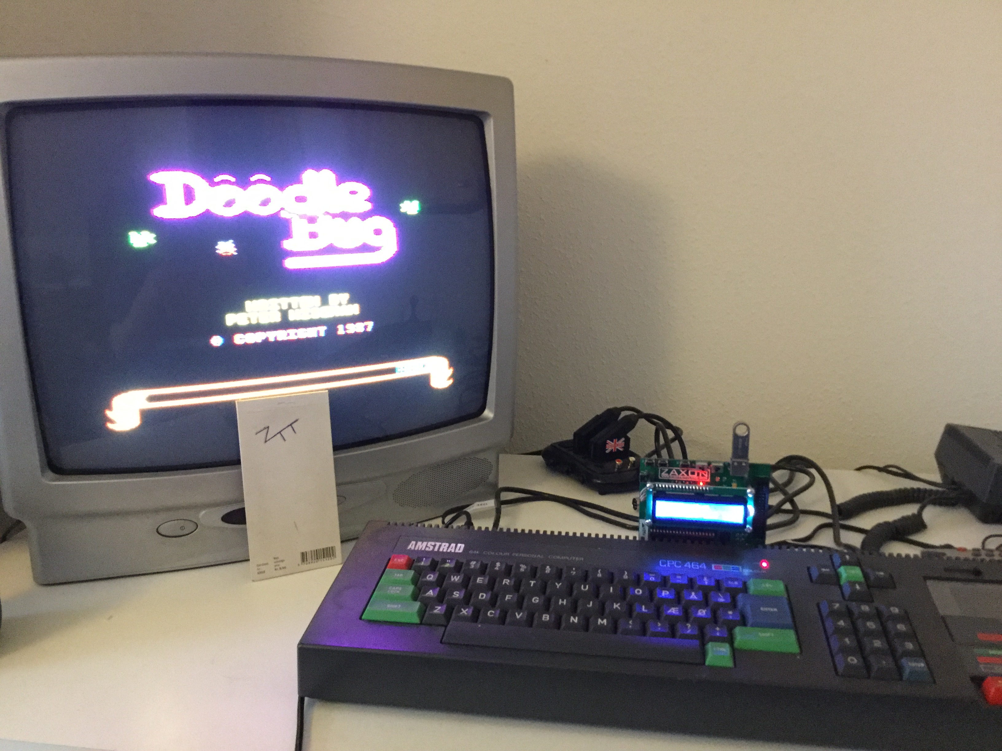 Frankie: Doodle Bug (Amstrad CPC) 18,360 points on 2017-01-31 06:33:14