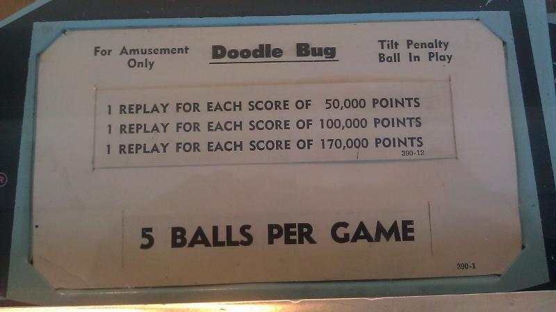 Doodle Bug 114,320 points