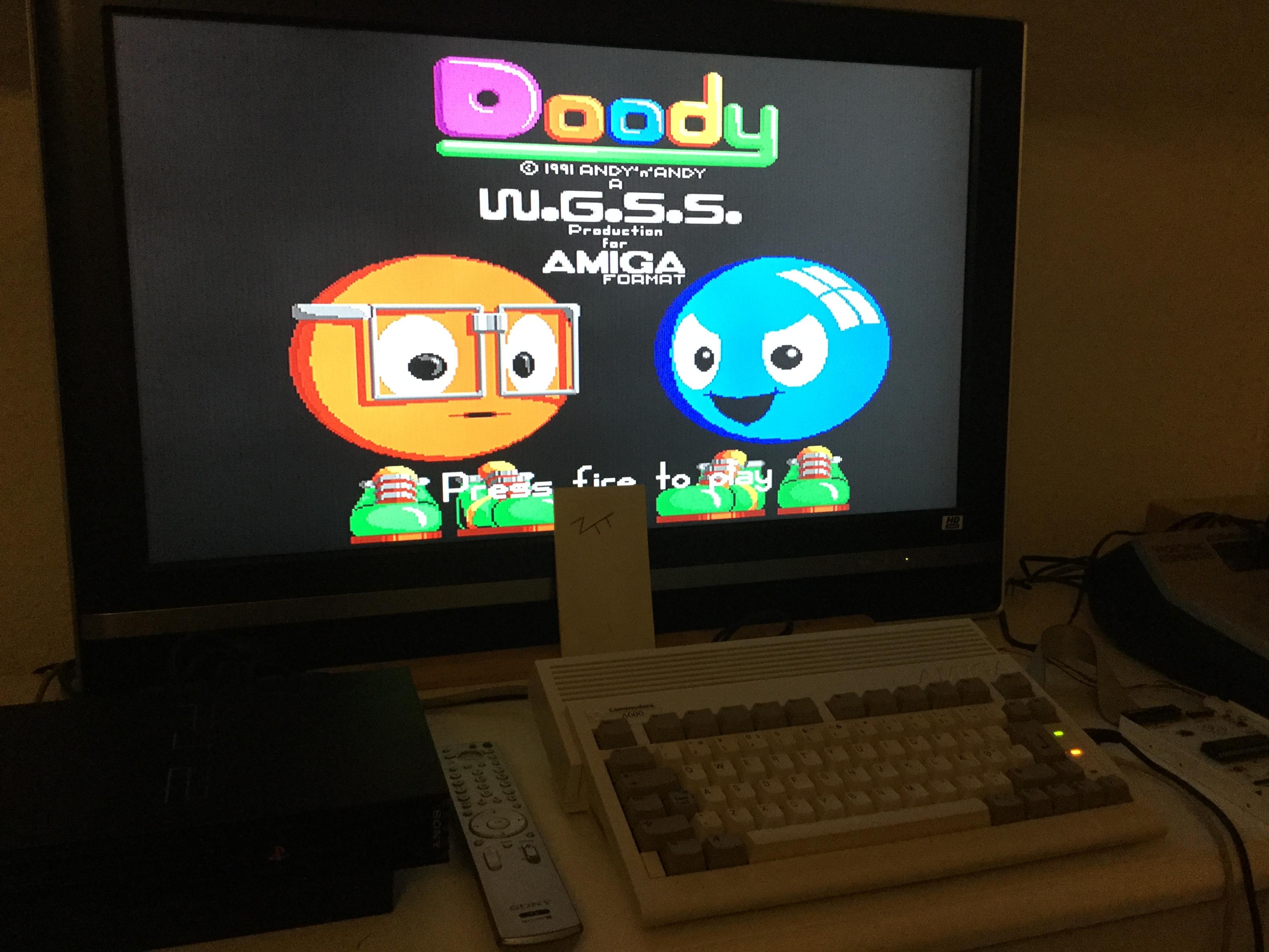 Frankie: Doody (Amiga) 93,750 points on 2017-11-17 13:17:11