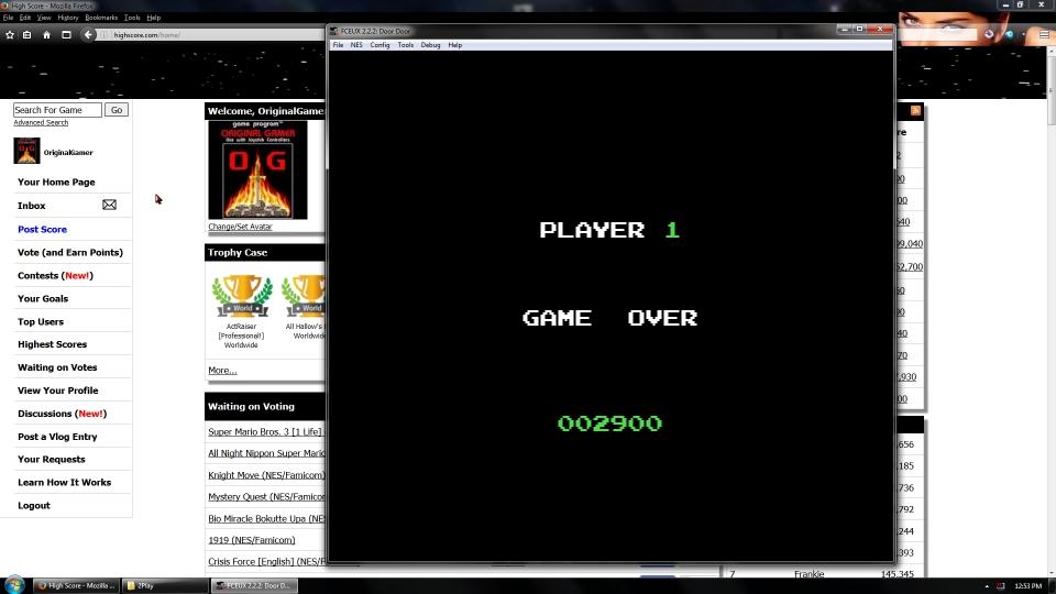 OriginalGamer: Door Door (NES/Famicom Emulated) 2,900 points on 2016-09-05 01:14:55