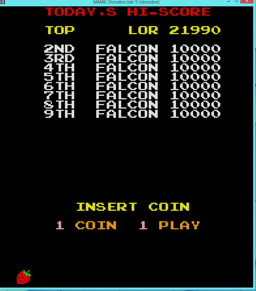 lenny2571: Dorodon [set 1] [dorodon] (Arcade Emulated / M.A.M.E.) 21,990 points on 2016-03-20 13:19:51