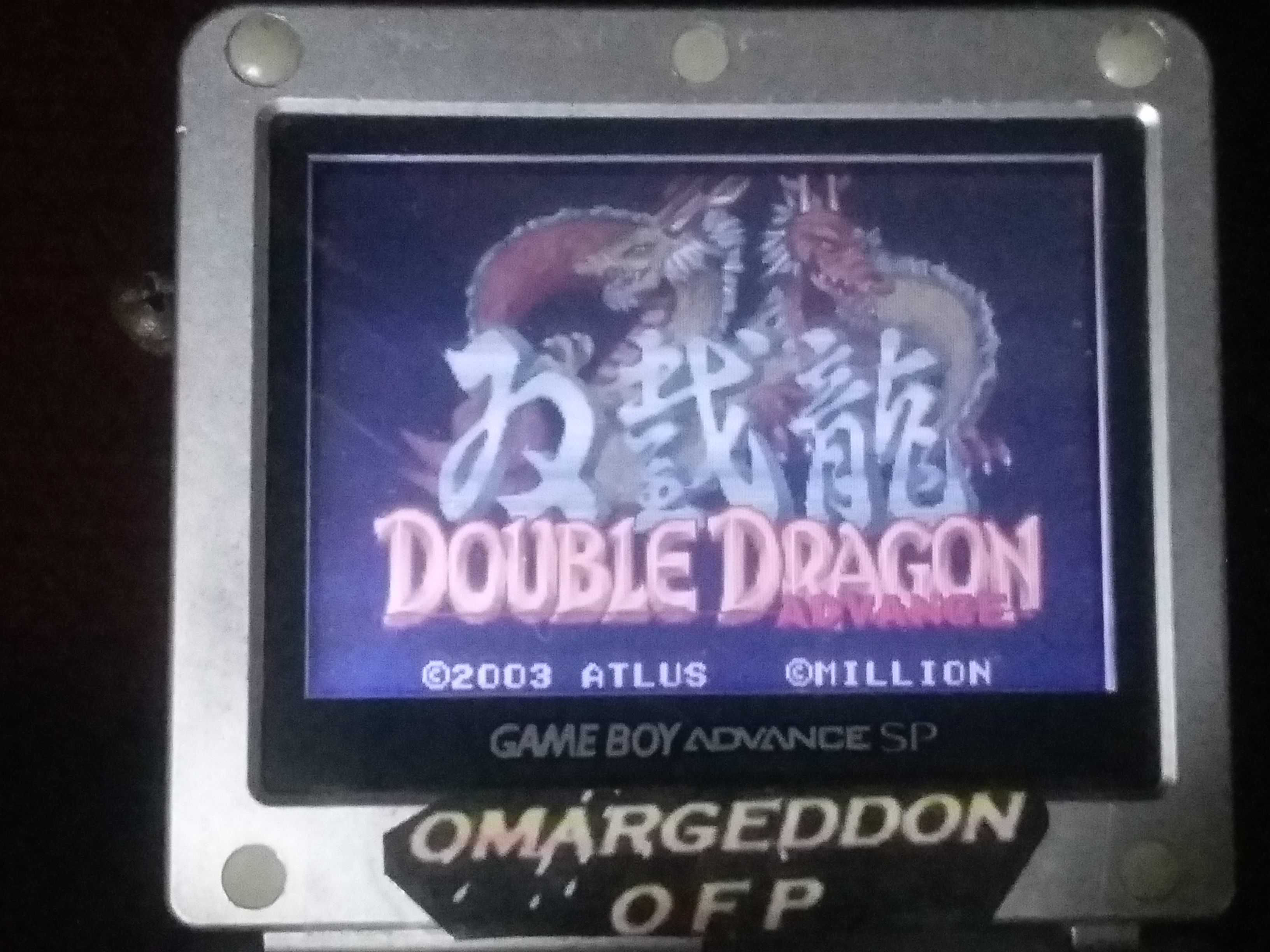 omargeddon: Double Dragon Advance (GBA) 84,100 points on 2018-01-17 17:59:15