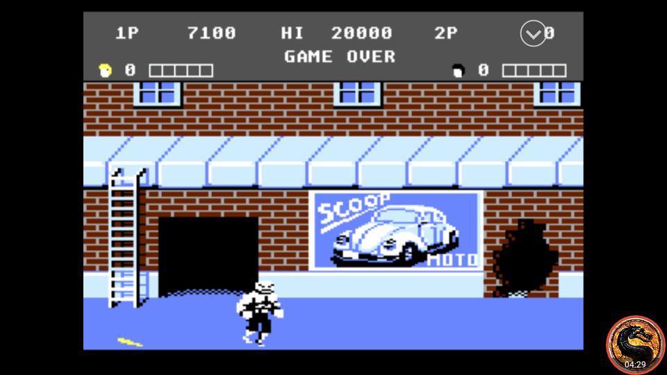 omargeddon: Double Dragon (Atari 7800 Emulated) 7,100 points on 2019-01-17 16:45:43