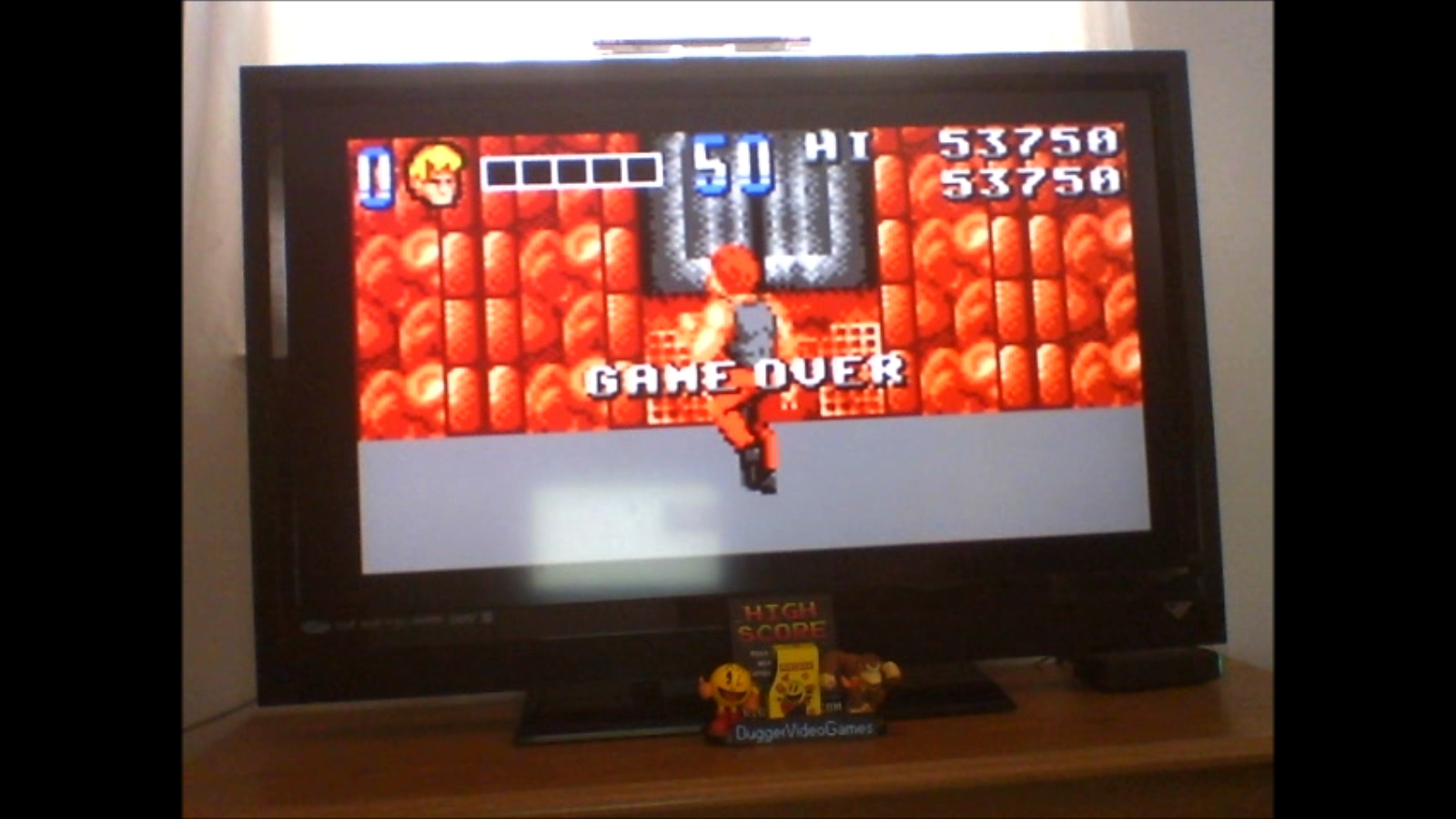 DuggerVideoGames: Double Dragon [Easy/Normal] (Atari Lynx Emulated) 53,750 points on 2017-02-07 13:04:43