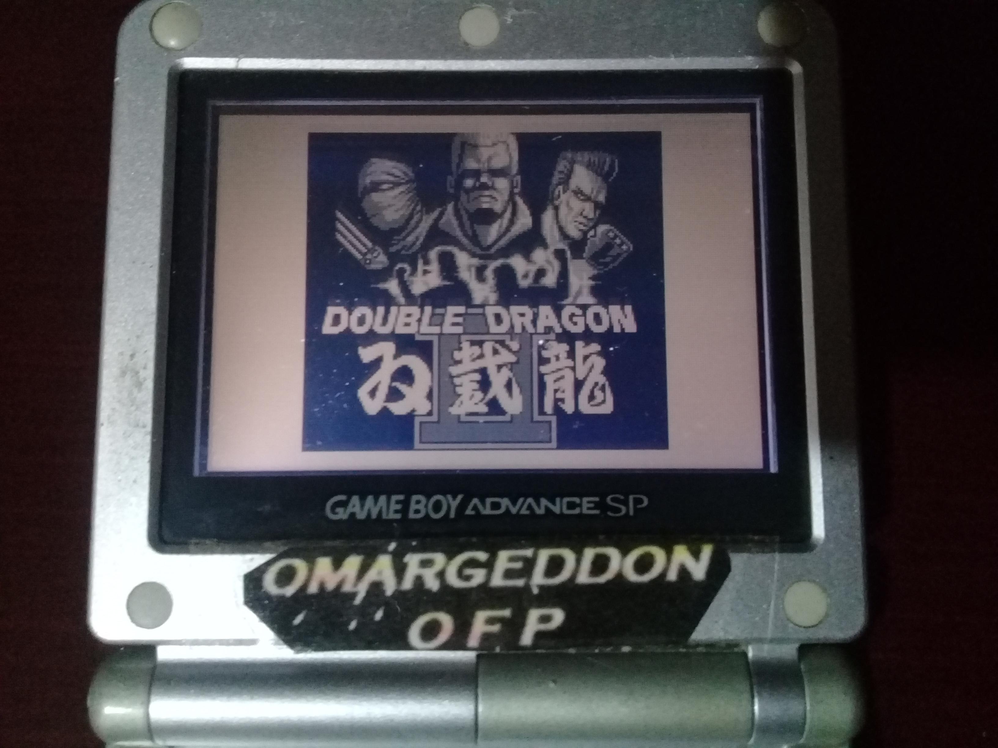 omargeddon: Double Dragon II (Game Boy) 106,900 points on 2019-01-12 01:28:27