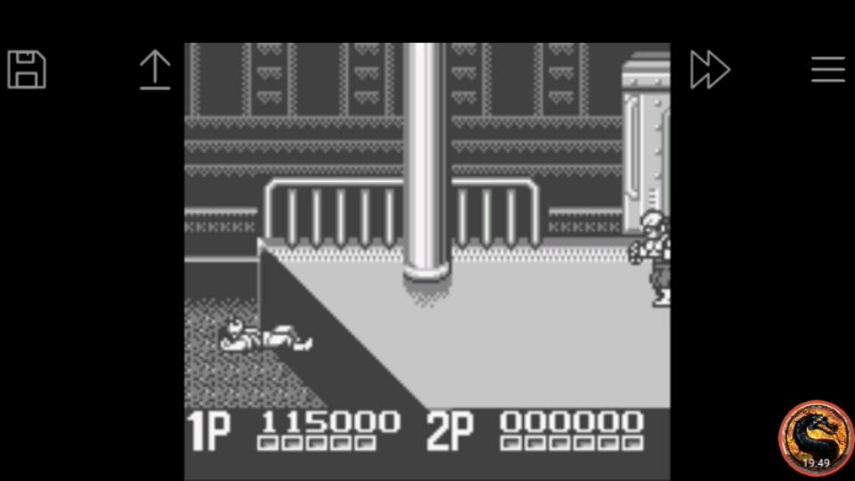 omargeddon: Double Dragon II (Game Boy Emulated) 115,000 points on 2019-02-01 09:09:45