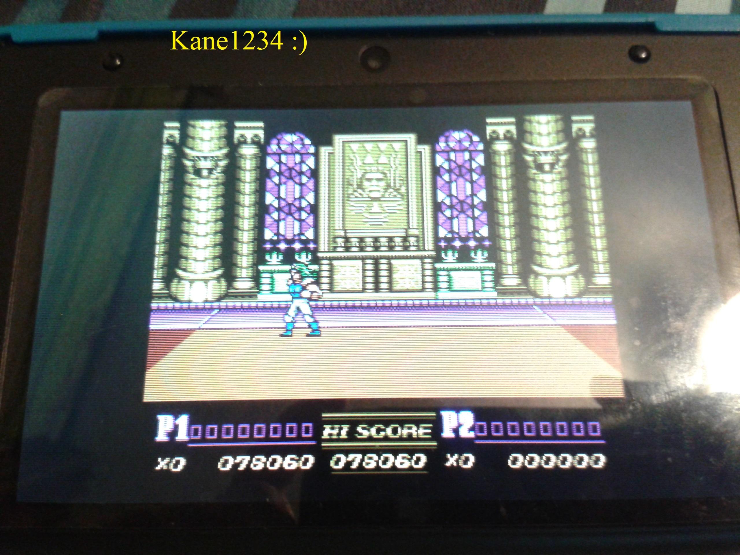Double Dragon II 78,060 points