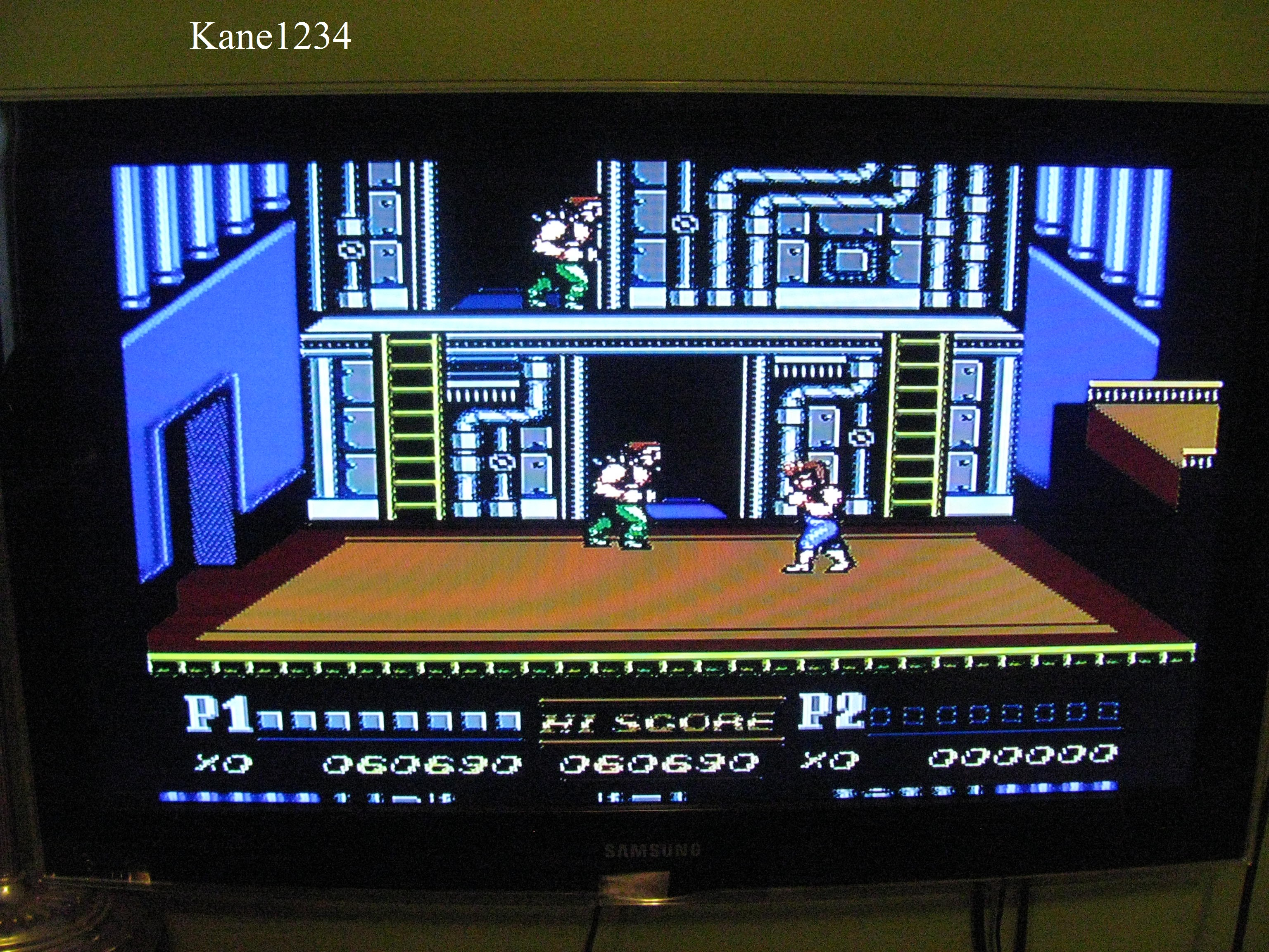 Double Dragon Ii Nes Famicom High Score By Kane1234