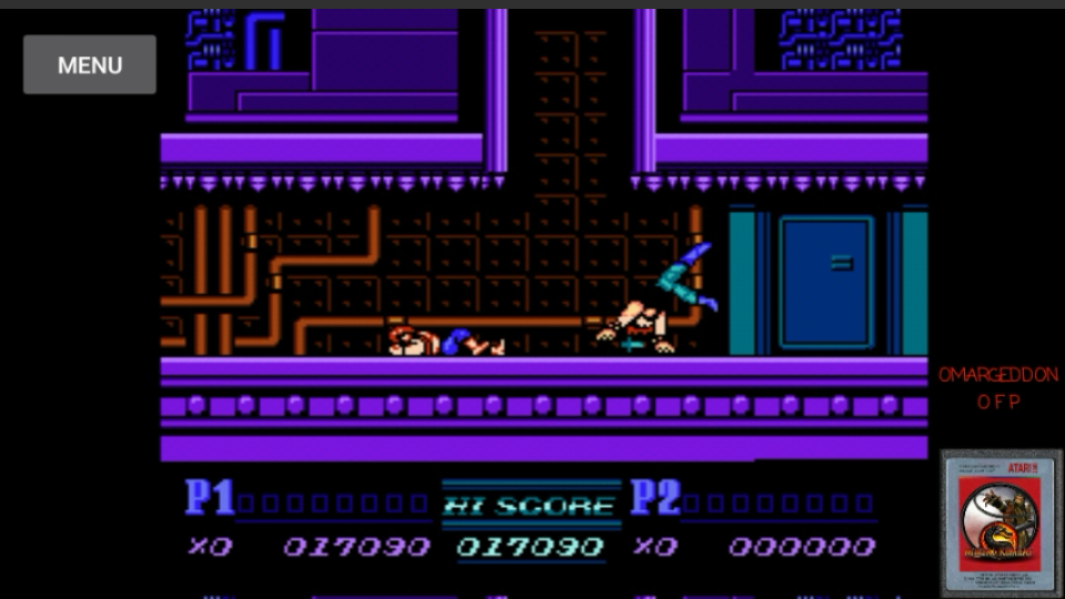 omargeddon: Double Dragon II (NES/Famicom Emulated) 17,090 points on 2017-03-15 23:11:53