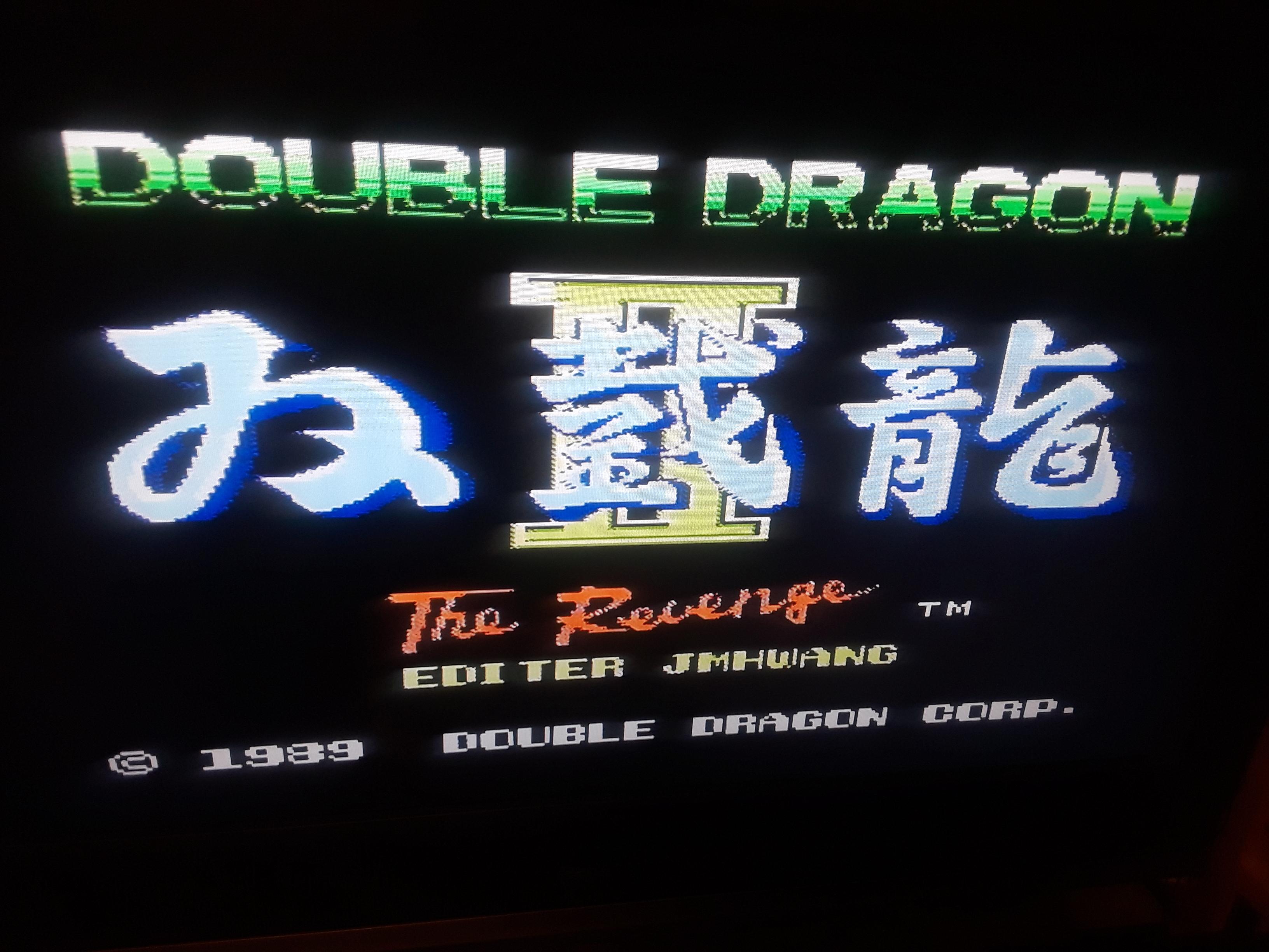 Double Dragon II 5,830 points