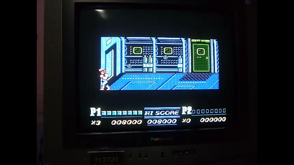 omargeddon: Double Dragon II: Practice (NES/Famicom) 8,000 points on 2019-05-14 20:46:28