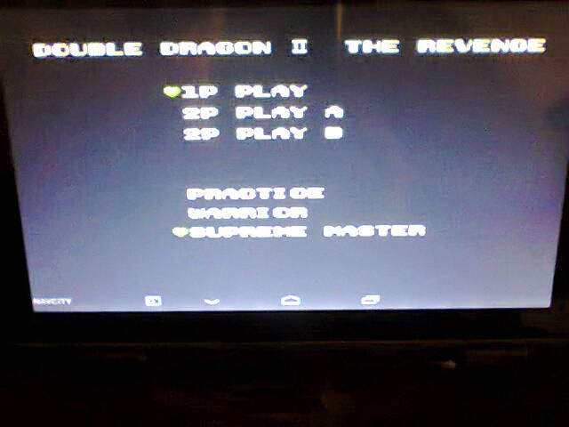 Double Dragon II: The Revenge [Supreme Master] 25,670 points