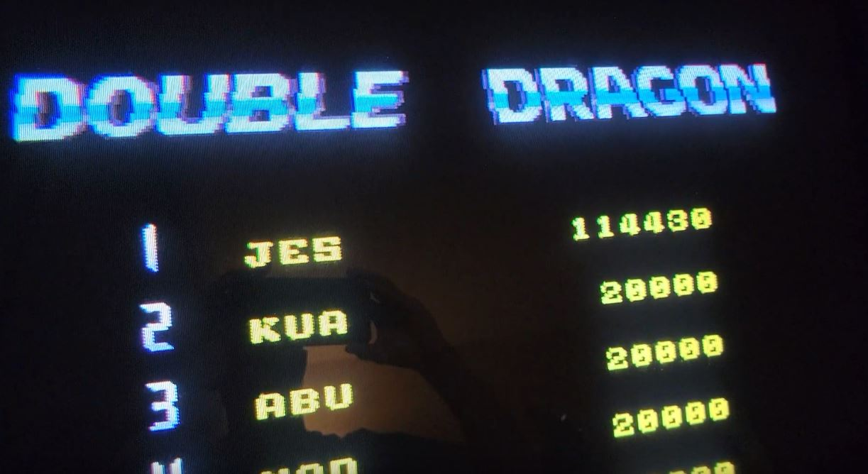 JES: Double Dragon II: The Revenge [ddragon2] (Arcade Emulated / M.A.M.E.) 114,430 points on 2021-09-27 12:05:00