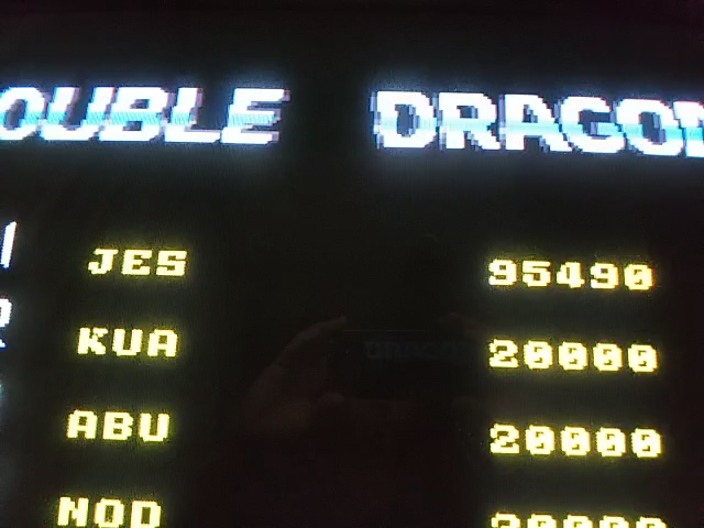 JES: Double Dragon II: The Revenge [ddragon2] (Arcade Emulated / M.A.M.E.) 95,490 points on 2018-09-03 13:33:28
