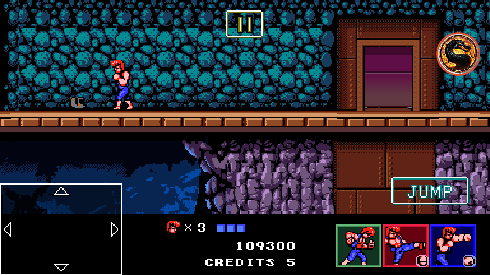 omargeddon: Double Dragon IV (Android) 109,300 points on 2019-11-06 23:01:24