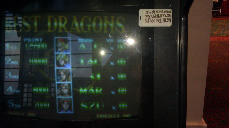 ichigokurosaki1991: Double Dragon [MVS] (Arcade) 125,500 points on 2016-11-30 00:52:54