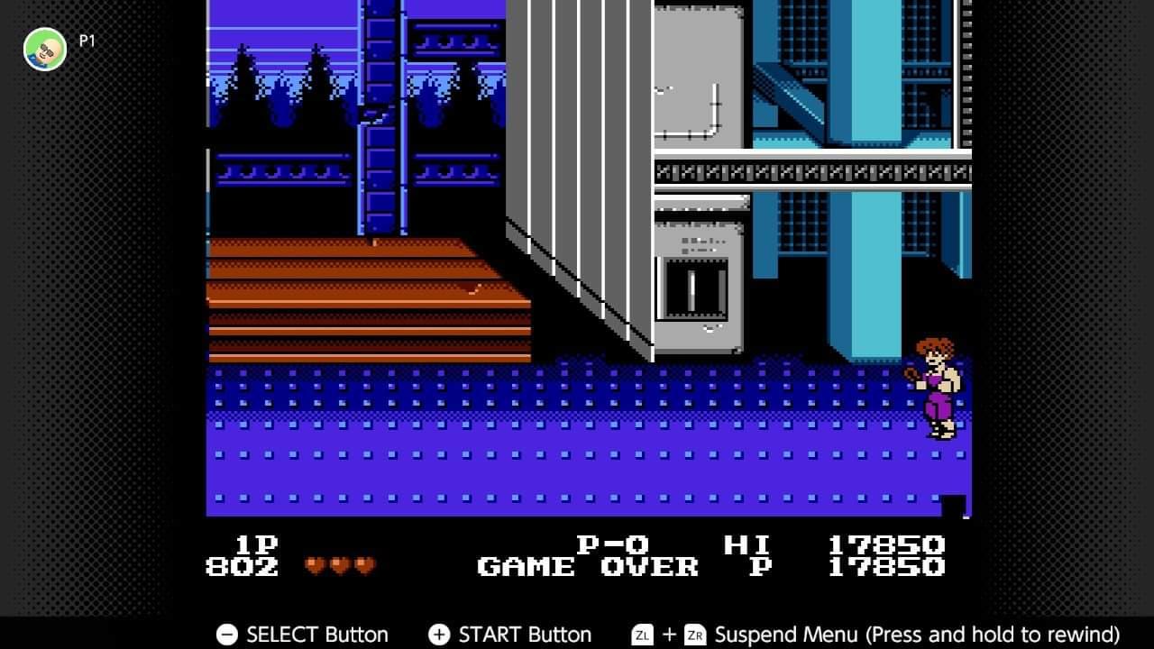 JML101582: Double Dragon (NES/Famicom Emulated) 17,850 points on 2020-12-25 16:35:24