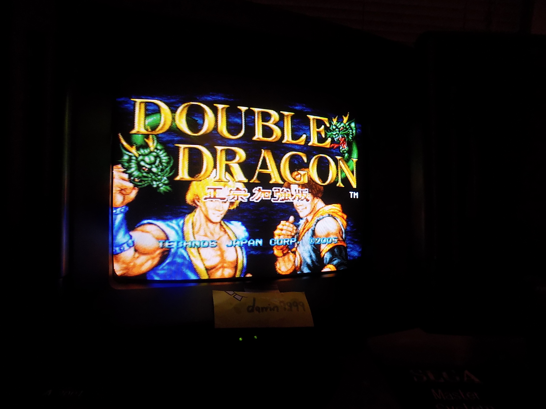 darrin9999: Double Dragon (Neo Geo) 34,800 points on 2017-09-02 22:40:36