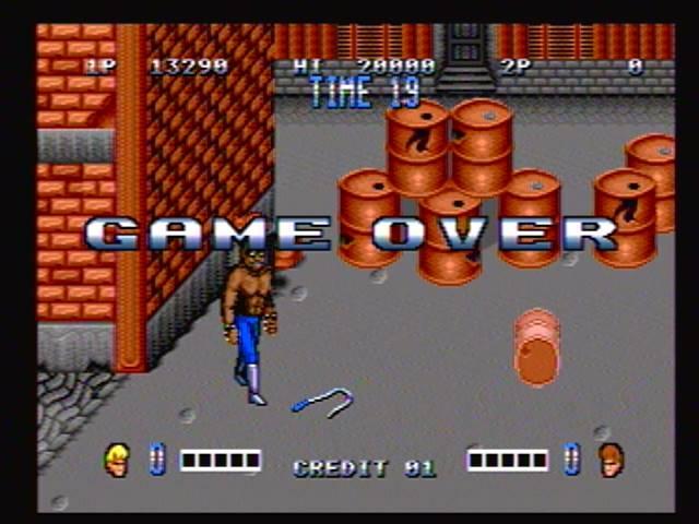 derek: Double Dragon (Sega Genesis / MegaDrive) 13,290 points on 2017-01-14 17:05:38