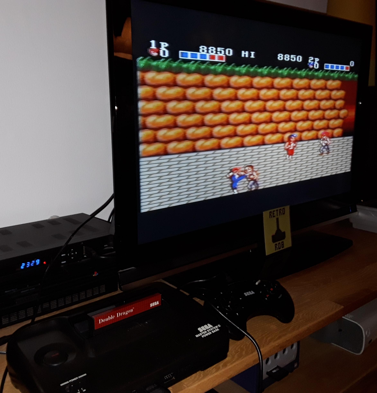 RetroRob: Double Dragon (Sega Master System) 8,850 points on 2019-01-12 00:37:30