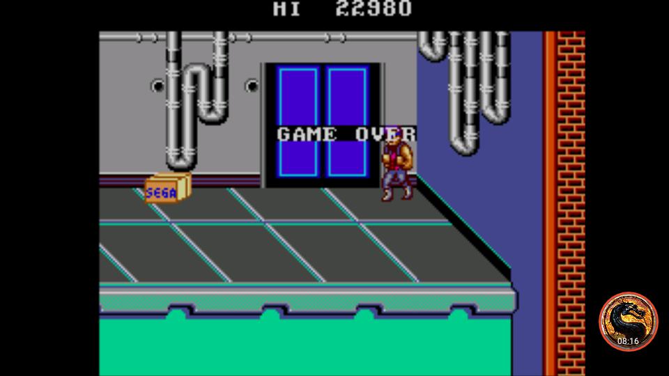 omargeddon: Double Dragon (Sega Master System Emulated) 22,980 points on 2019-01-13 03:06:16