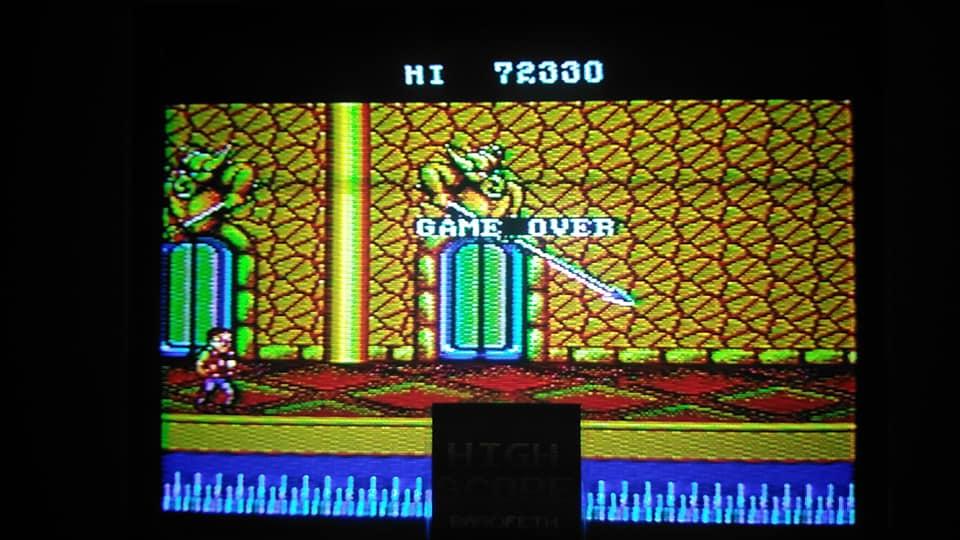 BabofetH: Double Dragon (Sega Master System) 72,330 points on 2020-07-31 02:37:23