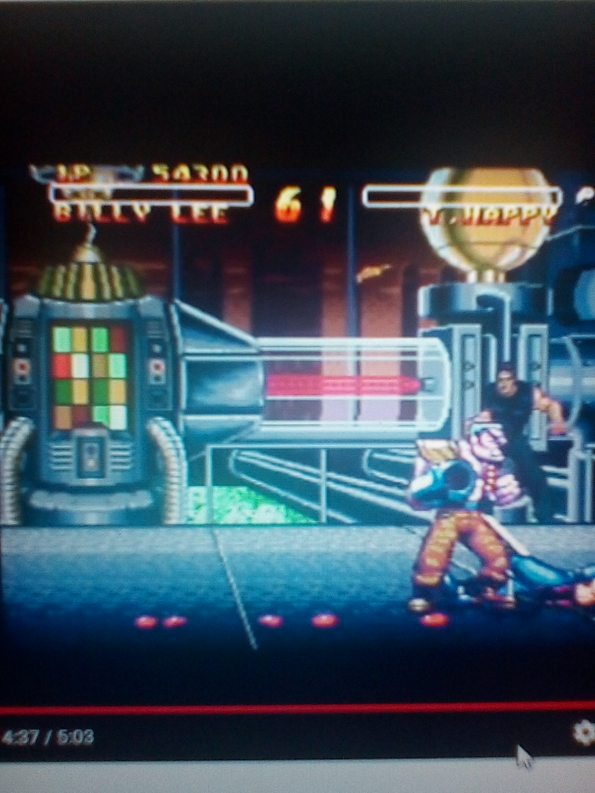 Double Dragon V The Shadow Falls [Pro] 54,300 points