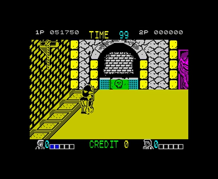 gazzhally: Double Dragon (ZX Spectrum Emulated) 51,750 points on 2016-10-26 12:05:03