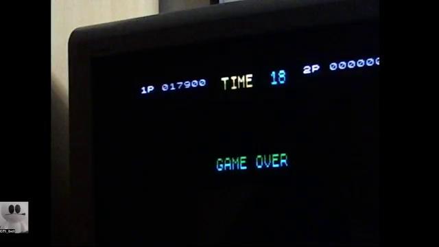 GTibel: Double Dragon (ZX Spectrum) 17,900 points on 2017-11-20 10:43:12