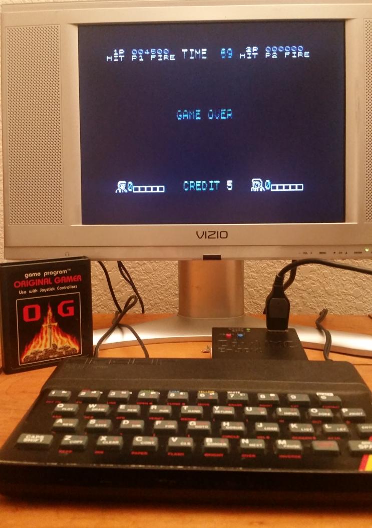OriginalGamer: Double Dragon (ZX Spectrum) 4,500 points on 2017-12-17 00:33:47