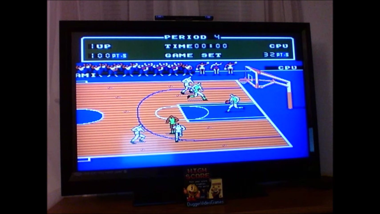 DuggerVideoGames: Double Dribble [Point Difference] [Level 3] (NES/Famicom Emulated) 68 points on 2016-12-02 05:09:03